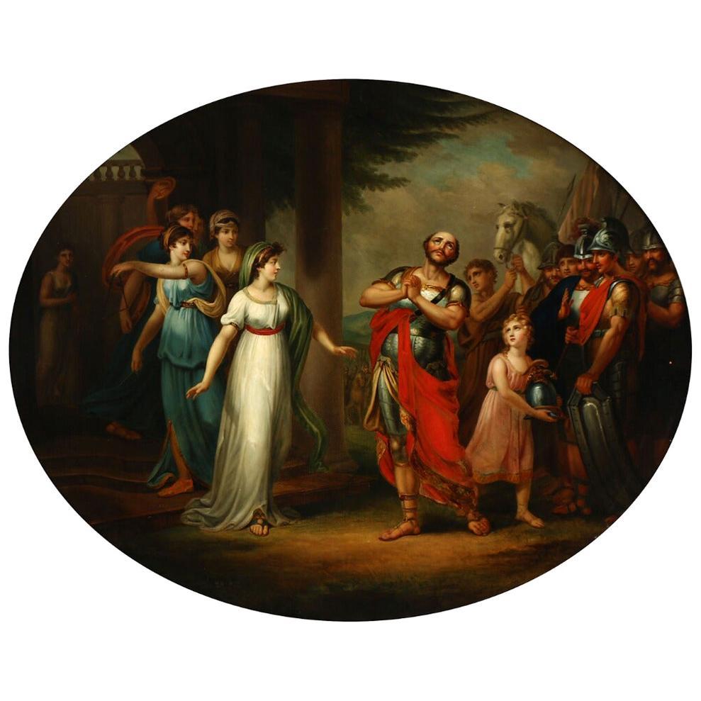 Jephthah the Gileadite Returning Home, circa 1800
