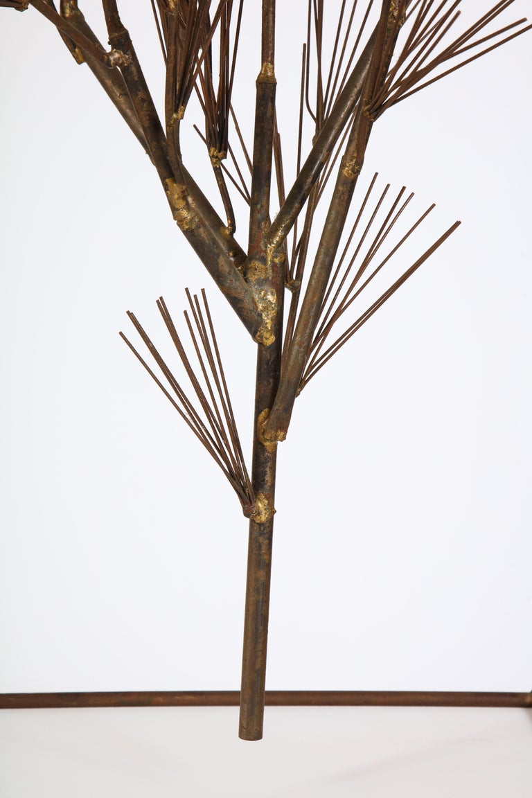 Jere Sculpture of Abstract Tree in Frame, USA, 1960s For Sale 10