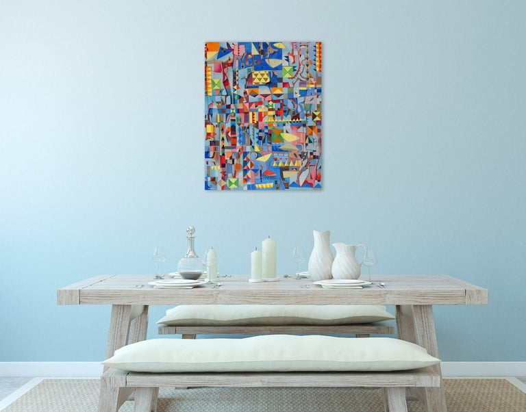 Plage (Abstract Painting) For Sale 1