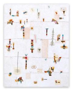 Taïga (Abstract Painting)