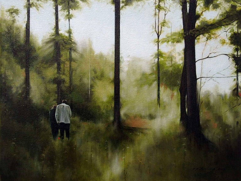 Jeremy Andrews Landscape Painting - Pathways