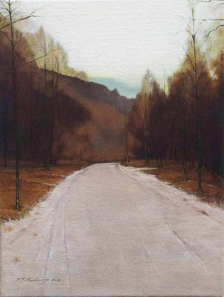 Jeremy Andrews Landscape Painting - The Road to Somewhere