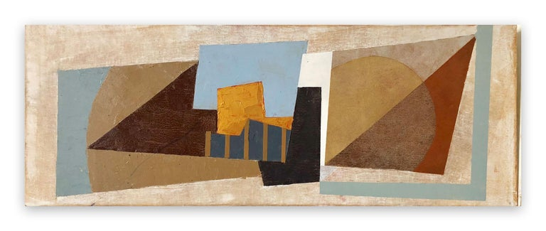 Jeremy Annear Abstract Painting - Memensha Sound