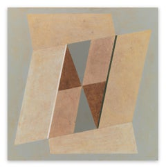Random Geometry (Opening) (Abstract painting)