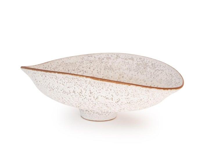 Mid-Century Modern Jeremy Briddell Large Volcanic Glaze Ceramic Bowl For Sale