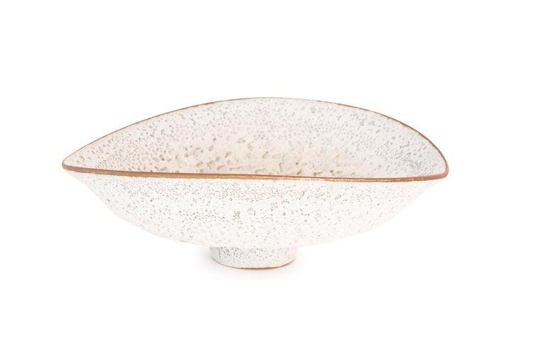 Jeremy Briddell Large Volcanic Glaze Ceramic Bowl In Good Condition For Sale In Phoenix, AZ