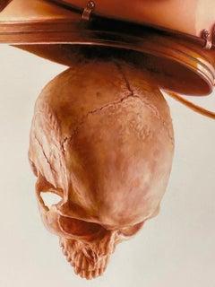 Jeremy Geddes Rotator Skull Print Contemporary Art Street Astronaut Series Pop