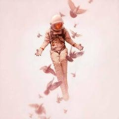 JEREMY GEDDES: Wilderness - Archival pigment print. Hyperrealism, Surrealism