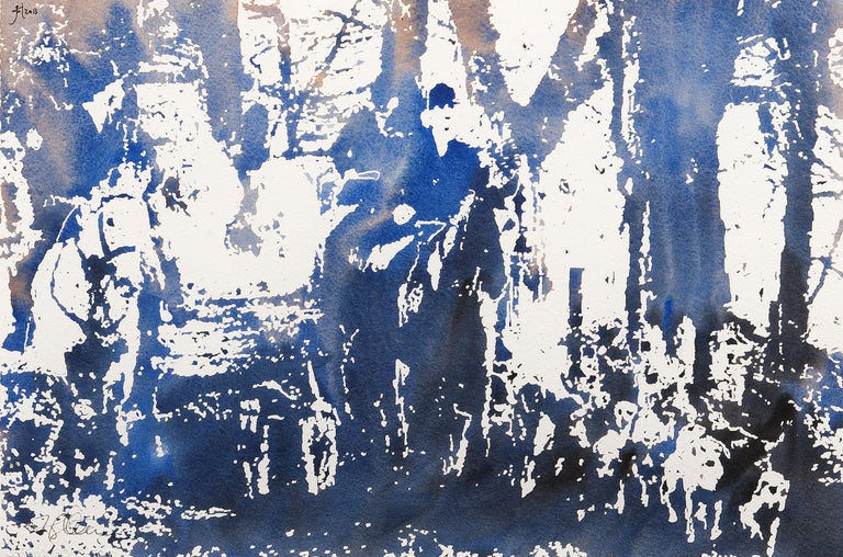 Jeremy Houghton Animal Painting - On the Scent (The Hounds of Highgrove).