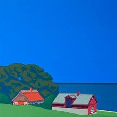 Skane Lane (Sweden) - landscape painting