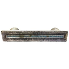 Jerome 'Jerry' & Evelyn Ackerman Micro-Mosaic Inlaid Desk Drawer Handle Pull