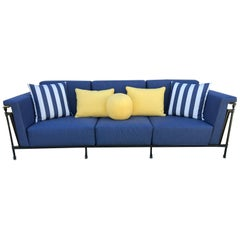 Striped Sofas - 72 For Sale on 1stdibs