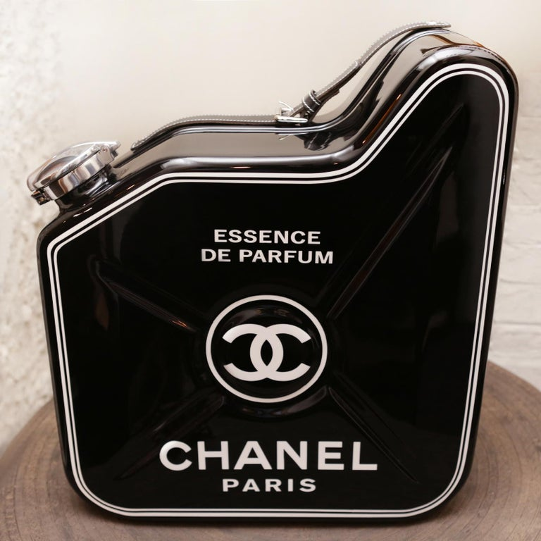 Chanel N°5 Black Jerrican art piece. Limited Edition of 15 pieces. Exceptional piece made in 2018.