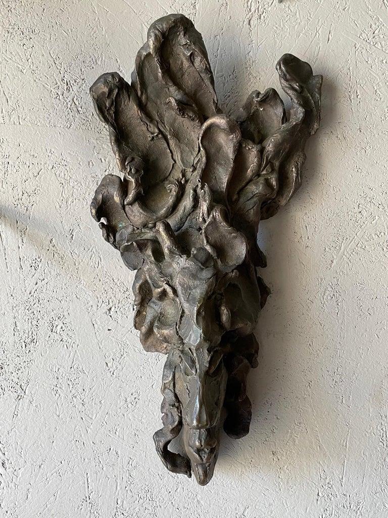 American Jerry Meatyard Bronze Sculpture