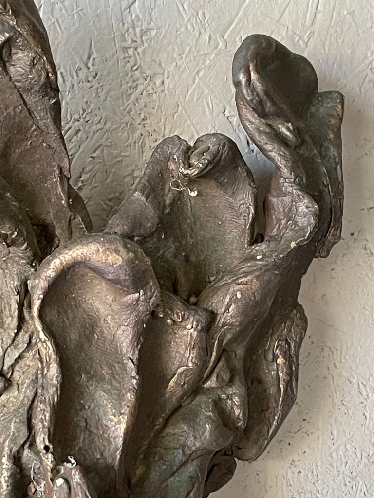 Late 20th Century Jerry Meatyard Bronze Sculpture