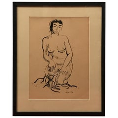 Jerry O' Day Nude Drawing