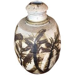 Jerry Rothman Large Decorative Ceramic Vase