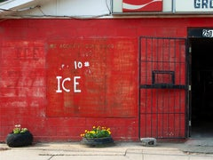 """""""#10, ICE"""" - Southern Documentary Photography - Selma, AL - Christenberry"""