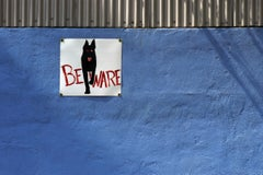 """""""Blue (BEWARE)"""" - Southern Documentary Photography - Christenberry"""