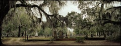 """Old Live Oak Cemetery, Selma"" - Southern Photography - Christenberry"