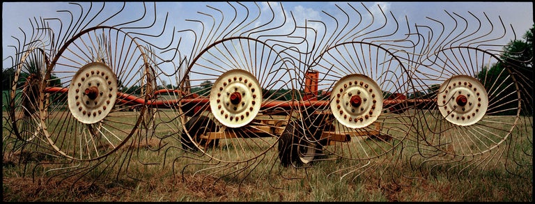 """Jerry Siegel Landscape Photograph - """"Rake, Perry County, AL"""" - Southern Documentary Photography - Christenberry"""