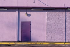 """""""Violet (Wall & Door)"""" - Southern Documentary Photography - Christenberry"""