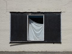 """""""Window with Sheet"""" - Southern Documentary Photography - Christenberry"""