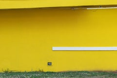 """""""Yellow (Wall)"""" - Southern Documentary Photography - Christenberry"""