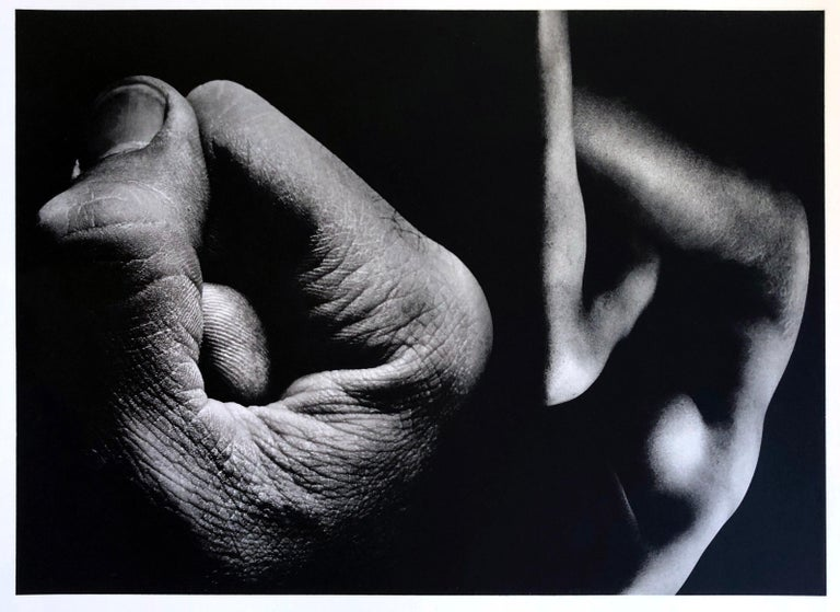 A set of 8 Prints by Jerry Uelsmann Surreal Figurative Photography 1970 Framed For Sale 3