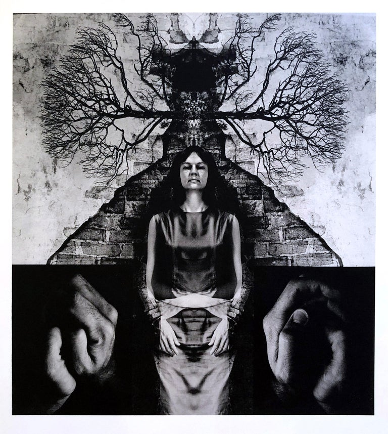 A set of 8 Prints by Jerry Uelsmann Surreal Figurative Photography 1970 Framed For Sale 5