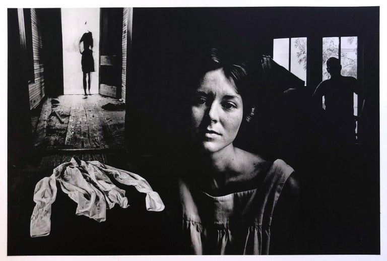 A set of 8 Prints by Jerry Uelsmann Surreal Figurative Photography 1970 Framed For Sale 7