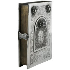 Jerusalem Silver Book Binding by Bezalel School