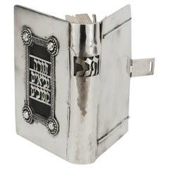 Jerusalem Silver Book Binding by Yaakov Ettlinger