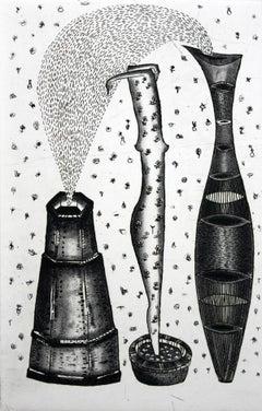 A source of natural pleasures - XXI Century, Contemporary Figurative Print
