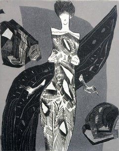 Remedy for the Seven Pains - XXI century, Black and white figurative print