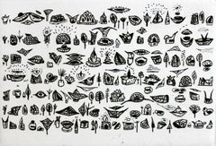 Things and thoughts of everyday use saved from oblivion - XXI century, Etching