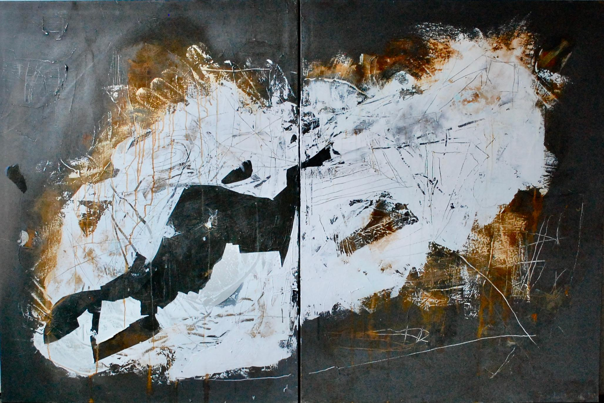 Light And Darkness Diptych