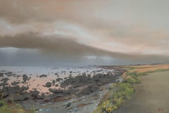 Mirror Calm at Ragged Point, Oil Painting