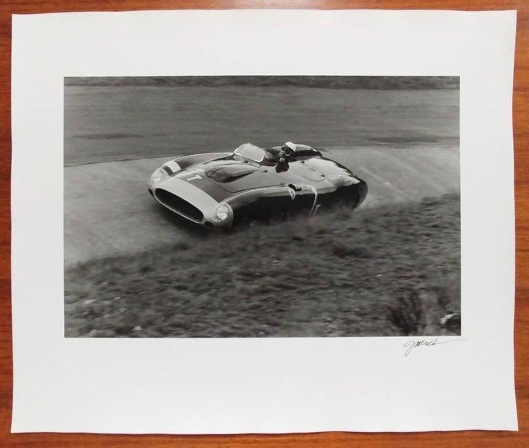 Eugenio Castellotti, Ferrari, 86 Monza, Nurburgring, Germany - Photograph by Jesse Alexander