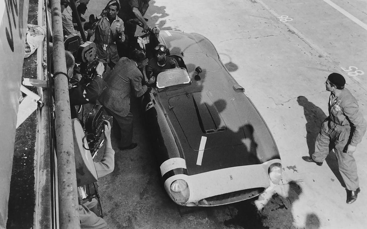 Fangio, Ferrari, 1000 KM Nürburgring