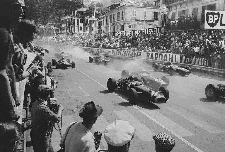Jesse Alexander Black and White Photograph - Grand Prix of Monaco Start, Monaco