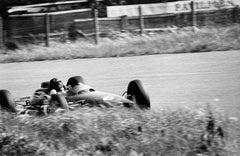 Jim Clark in action Lotus Zan voort Holland