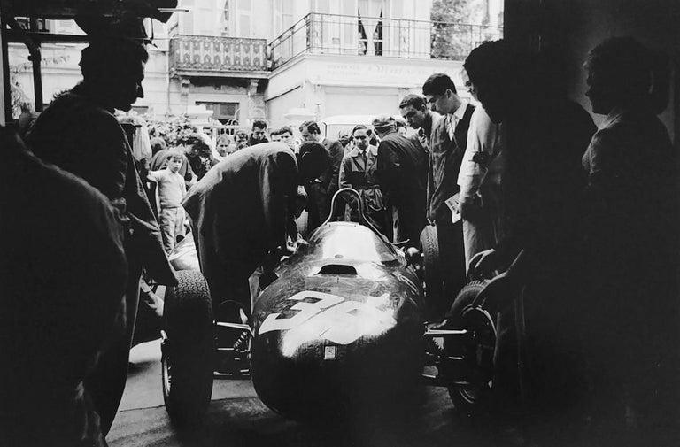 Jesse Alexander Black and White Photograph - Monaco Pits