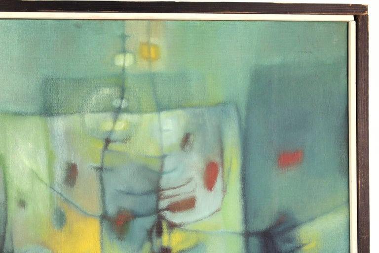 American Jesse Bardin Modern Acrylic on Canvas Painting For Sale