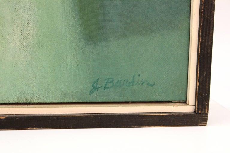 Jesse Bardin Modern Acrylic on Canvas Painting For Sale 1