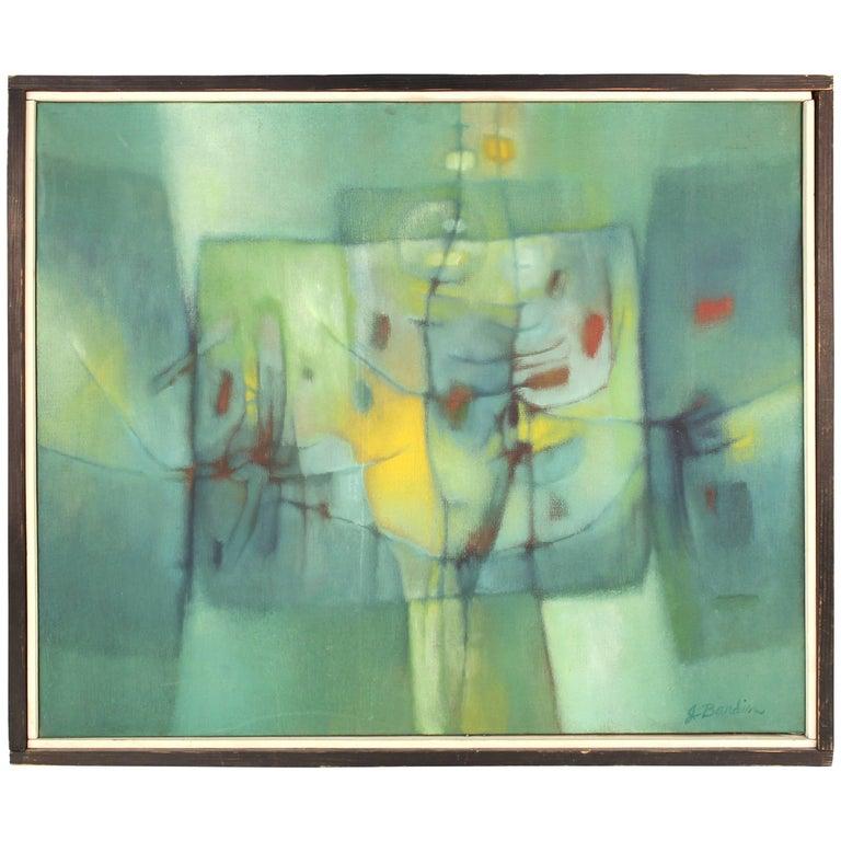 Jesse Bardin Modern Acrylic on Canvas Painting For Sale