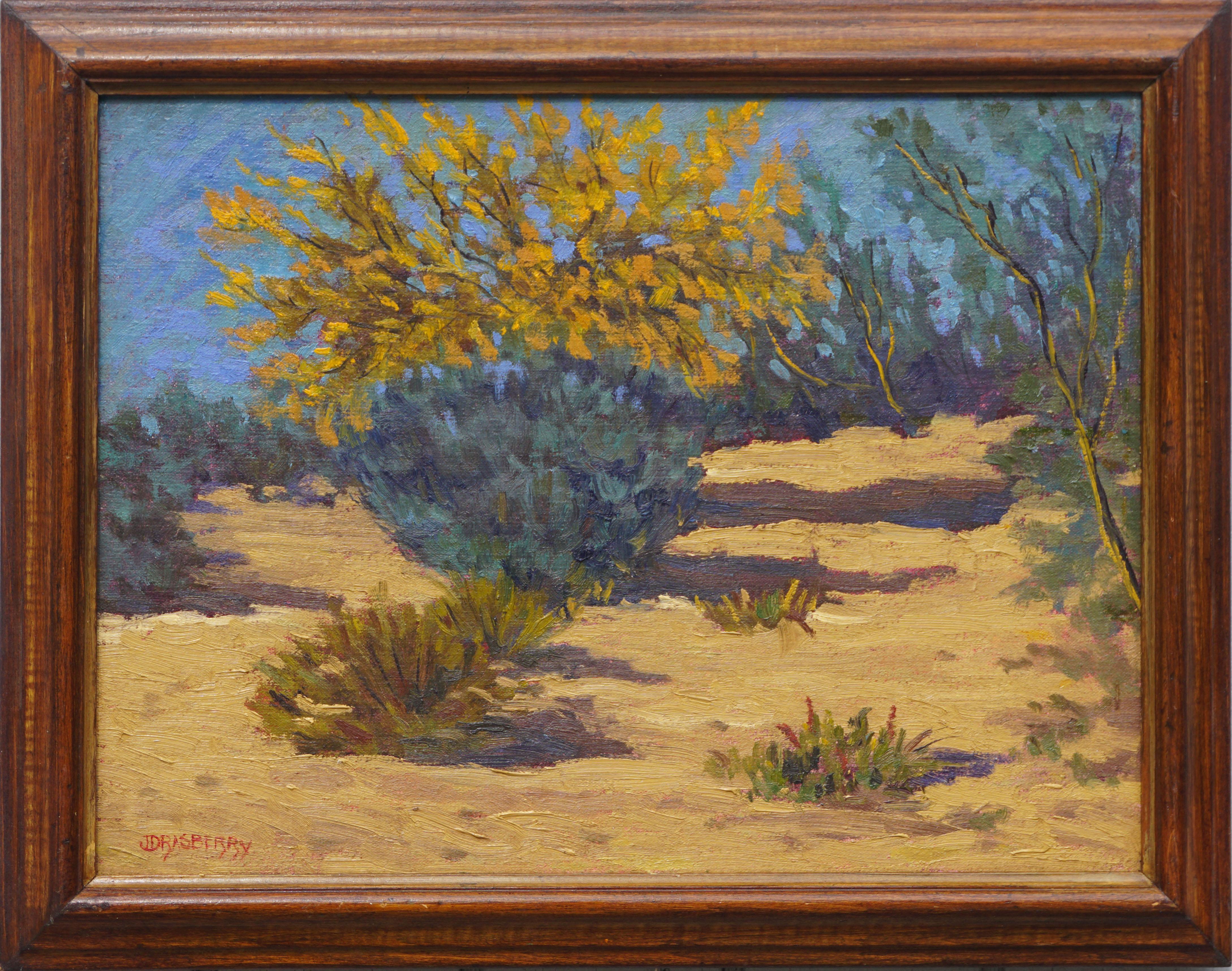 California Chaparral Landscape