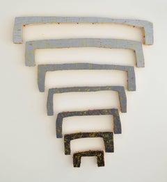 Jesse Hickman, Note Four Twenty Seven Sixteen, 2016, Enamel, Wood