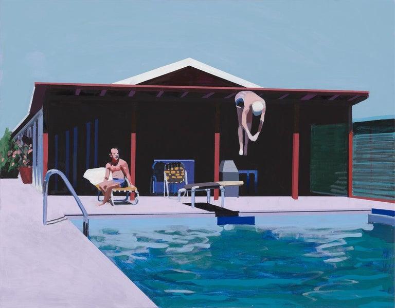 Jessica Brilli Figurative Print - Deep Dive