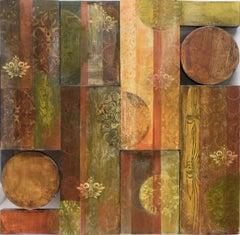 """Taddington"" - Abstract Wall Sculpture"